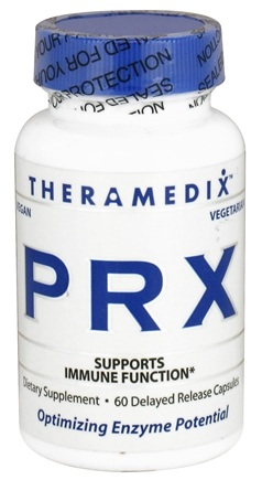 DROPPED: Theramedix - PRX Immune Support Formula - 60 Vegetarian Capsules