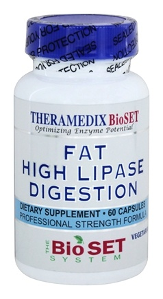 Theramedix - LPS Fat Digestion Formula - 60 Vegetarian Capsules CLEARANCE PRICED