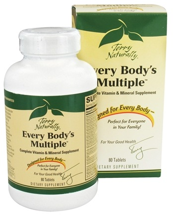 DROPPED: EuroPharma - Every Body's Multiple Vitamin & Mineral - 80 Tablet(s) CLEARANCE PRICED