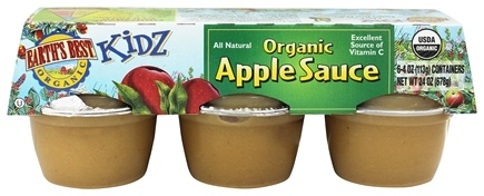 Earth's Best - Organic Apple Sauce - 6 Cup(s)