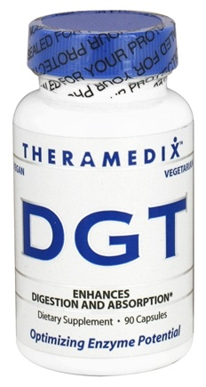 DROPPED: Theramedix - DGT Digestion Support Formula - 90 Vegetarian Capsules