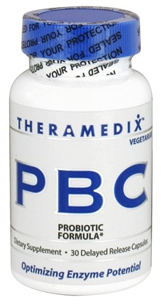 DROPPED: Theramedix - PBC Probiotic Formula - 30 Vegetarian Capsules DAILY DEAL