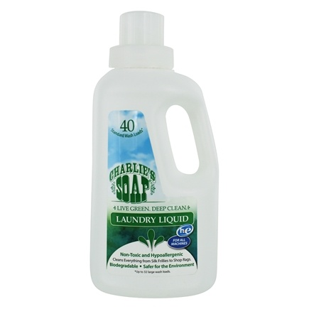Charlie's Soap - Laundry Liquid - 32 oz.