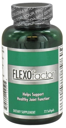 DROPPED: Factor Nutrition Labs - Flex O Factor Joint Support - 72 Softgels