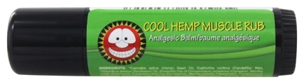The Merry Hempsters - Vegan Hemp Cool Muscle Rub - 0.6 oz.