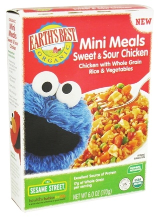DROPPED: Earth's Best - Mini Meals Sweet & Sour Chicken - 6 oz. CLEARANCE PRICED