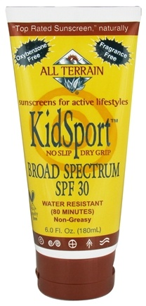 DROPPED: All Terrain - KidSport Sunscreen Lotion 30 SPF - 6 oz. CLEARANCE PRICED