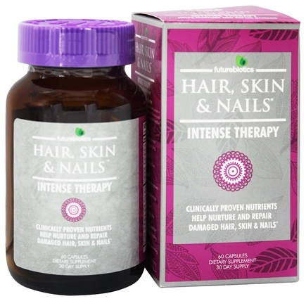 DROPPED: Futurebiotics - Hair, Skin, & Nails Intense Therapy - 60 Capsules