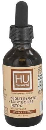 DROPPED: HUmineral - Zeolite (Raw) + Body Boost Detox - 2 oz.