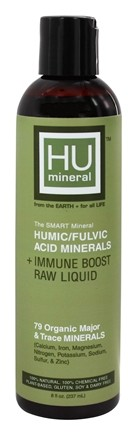 DROPPED: HUmineral - Humic/Fulvic Acid Mineral + Immune Boost Raw Liquid - 8 oz.