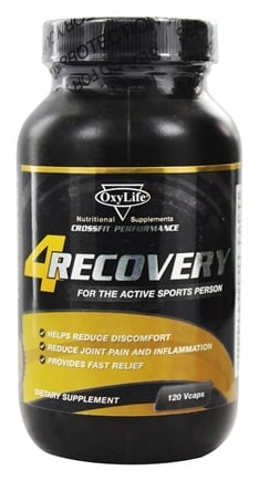 DROPPED: OxyLife Products - Recovery Post Workout Supplement - 120 Vegetarian Capsules CLEARANCE PRICED
