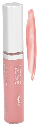 DROPPED: Sante - Lipgloss 01 Nude Rose - 3 ml. CLEARANCE PRICED