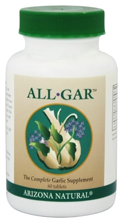 DROPPED: Arizona Natural - All-Gar Garlic Supplement - 60 Tablet(s)