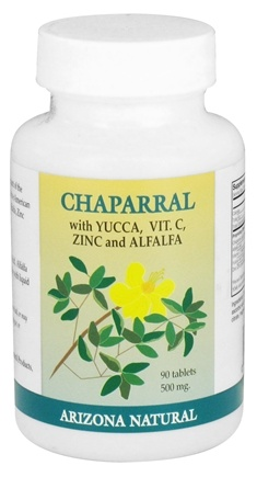 DROPPED: Arizona Natural - Chaparral - 90 Tablet(s) CLEARANCED PRICED