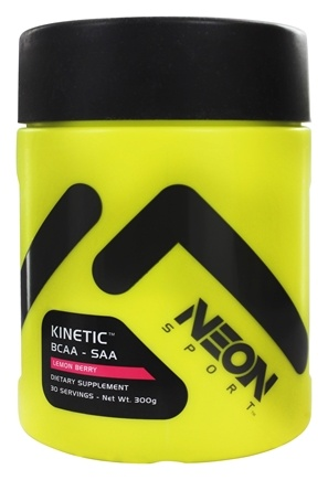 DROPPED: Neon Sport - Kinetic BCAA SAA Powder Lemon Berry 30 Servings - 300 Grams