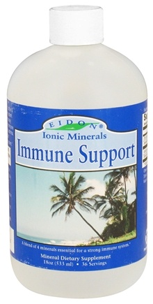 DROPPED: Eidon Ionic Minerals - Immune Support Liquid - 18 oz. CLEARANCE PRICED