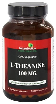 DROPPED: Futurebiotics - L-Theanine 100 mg. - 60 Vegetarian Capsules CLEARANCE PRICED