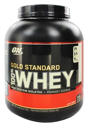 Optimum Nutrition - 100% Whey Gold Standard Protein White Chocolate - 5 lbs.
