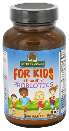 DROPPED: Nature's Answer - Probiotics For Kids - 2 oz.