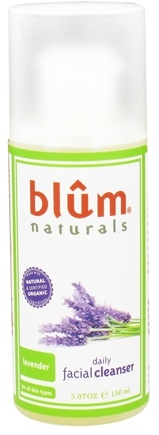 DROPPED: Blum Naturals - Daily Facial Cleanser Lavender - 5.07 oz. CLEARANCE PRICED