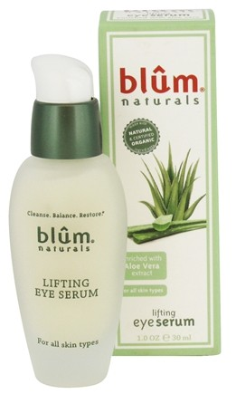 Blum Naturals - Lifting Eye Serum For All Skin Types - 1 oz.