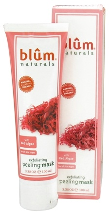 DROPPED: Blum Naturals - Exfoliating Peeling Facial Mask with Red Algae - 3.38 oz.