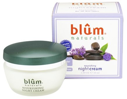DROPPED: Blum Naturals - Nourishing Night Cream Lavender - 1.69 oz. CLEARANCE PRICED