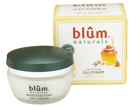 DROPPED: Blum Naturals - Moisturizing Day Cream Honey and Chamomile - 1.69 oz. CLEARANCE PRICED