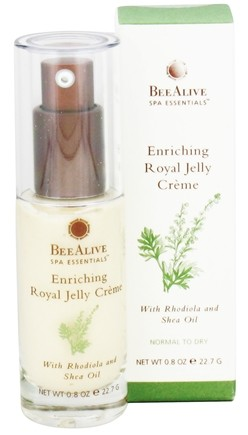 DROPPED: BeeAlive - Enriching Royal Jelly Facial Creme with Rhodiola and Shea Oil - 0.8 oz. CLEARANCE PRICED
