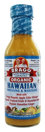 Bragg - Organic Fat Free Dressing & Marinade Hawaiian - 12 oz.