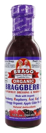 Bragg - Organic Fat Free Dressing & Marinade Braggberry - 12 oz.