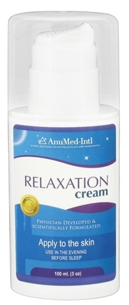 DROPPED: AnuMed - Relaxation Cream - 3 oz. CLEARANCE PRICED