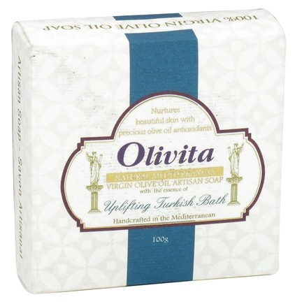 DROPPED: Olivita - Virgin Olive Oil Bar Soap Turkish Bath - 3.5 oz. CLEARANCE PRICED