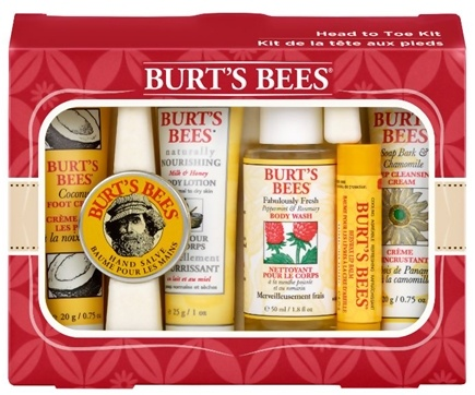 Burt's Bees - Head To Toe Natural Body Care Kit - 6 Piece(s)