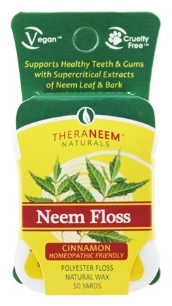 Organix South - TheraNeem Naturals Neem Floss Cinnamon - 50 Yard(s)