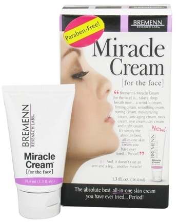 DROPPED: Bremenn Research Labs - Miracle Cream for the Face - 1.3 oz.