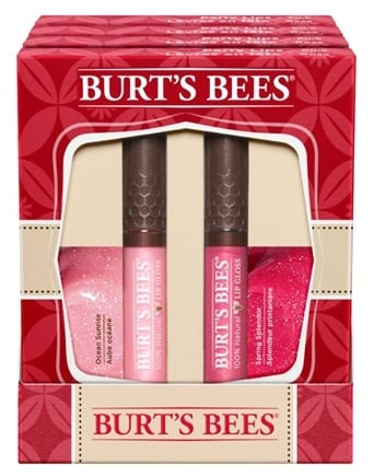 DROPPED: Burt's Bees - Party Lips Lip Gloss Set Pink - 2 Piece(s)