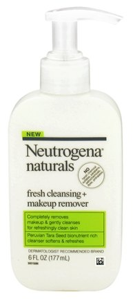 Neutrogena - Naturals Fresh Cleansing + Makeup Remover - 6 oz.