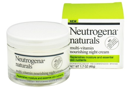 DROPPED: Neutrogena - Naturals Multi-Vitamin Nourishing Night Cream - 1.7 oz.
