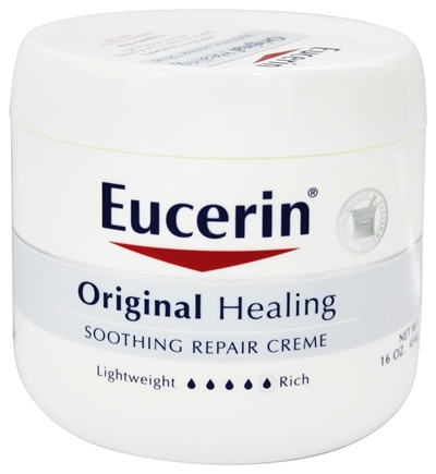 DROPPED: Eucerin - Original Healing Soothing Repair Creme Fragrance Free - 16 oz.
