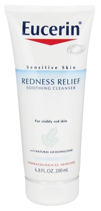 DROPPED: Eucerin - Redness Relief Soothing Cleanser For Sensitive Skin Fragrance Free - 6.8 oz. CLEARANCE PRICED
