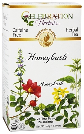 DROPPED: Celebration Herbals - Organic Caffeine Free Honeybush Herbal Tea - 24 Tea Bags CLEARANCE PRICED