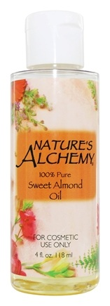 Nature's Alchemy - 100% Pure Sweet Almond Oil - 4 oz.
