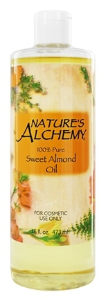 Nature's Alchemy - 100% Pure Sweet Almond Oil - 16 oz.