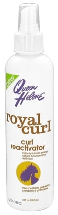 DROPPED: Queen Helene - Royal Curl Spray Curl Reactivator - 8 oz. CLEARANCE PRICED