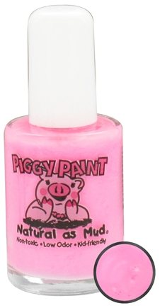 DROPPED: Piggy Paint - Nail Polish Pinkie Promise Neon Matte Light Pink - 0.5 oz. CLEARANCE PRICED