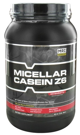 DROPPED: MRI: Medical Research Institute - Micellar Casein Z6 Strawberry - 2 lbs.