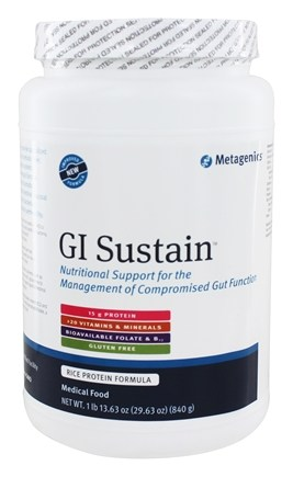 Metagenics - GI Sustain Leaky Gut Syndrome Medical Food - 29.6 oz.