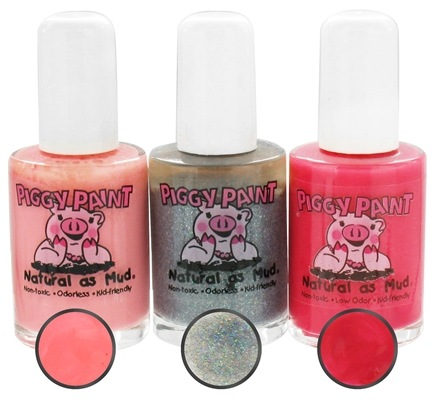 DROPPED: Piggy Paint - Nail Polish Gift Set Fancies and Frills - 3 Piece(s) CLEARANCE PRICED