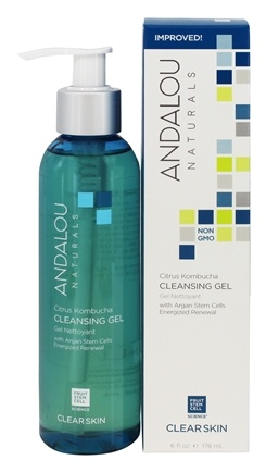 Andalou Naturals - Cleansing Gel Clarifying Citrus Kombucha - 6 oz.